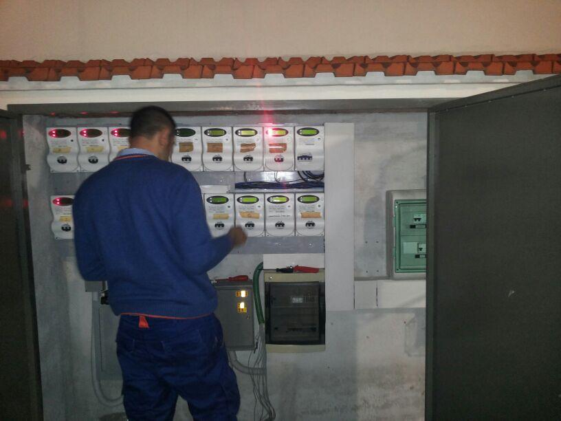Intervento elettrico eseguito in via Delle Porte Nuove Firenze il 31/03/2014